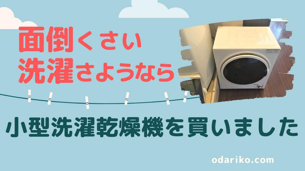 小型衣類乾燥機レビュー