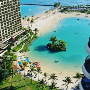 ハワイでKindle読書