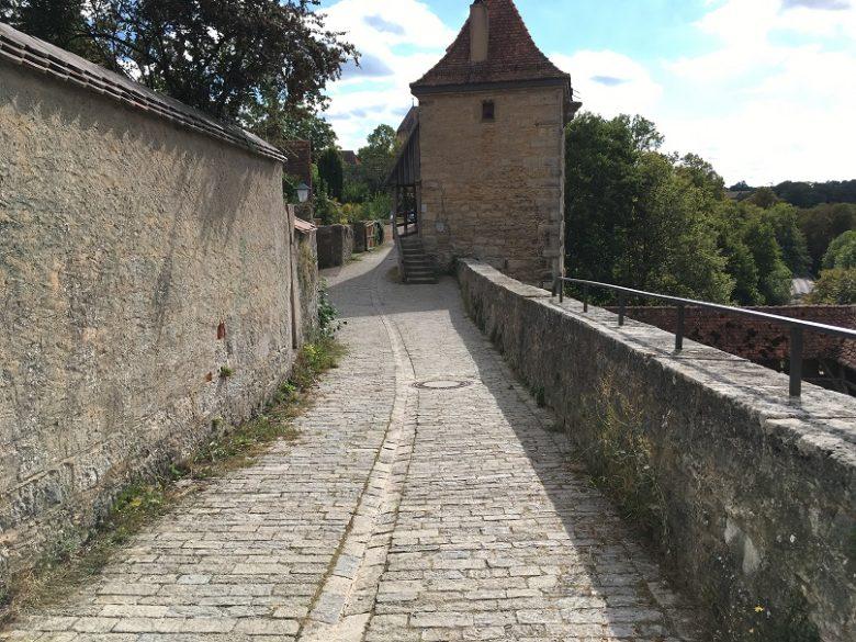 ローテンブルク城壁歩き