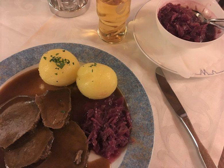 ローテンブルクの夕食