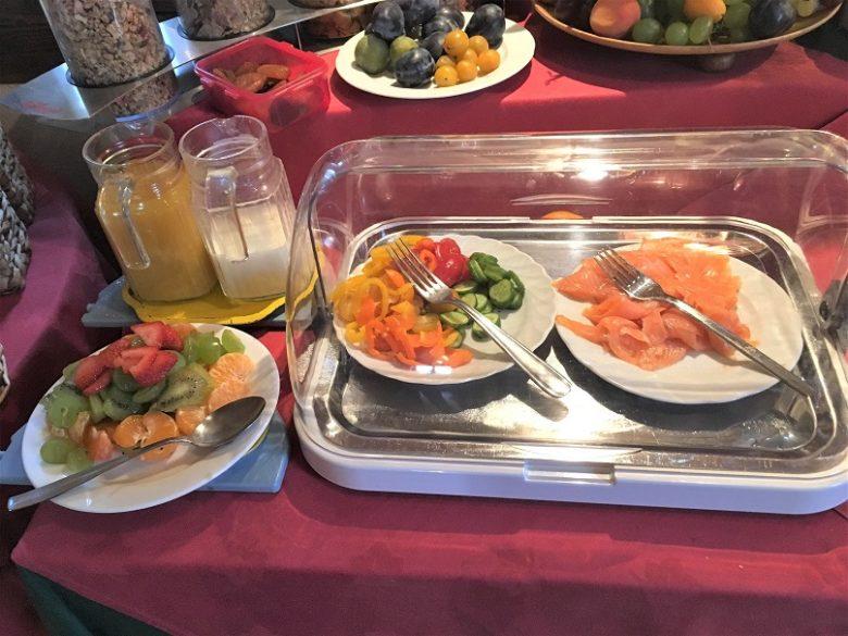 Pension Elkeの朝食