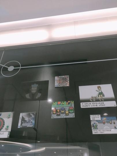 ポケモンセンター入り口ディスプレイ2